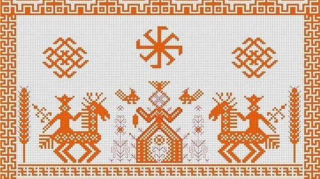 Вышивка Макошь