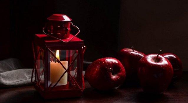 Приворожить на красное яблоко